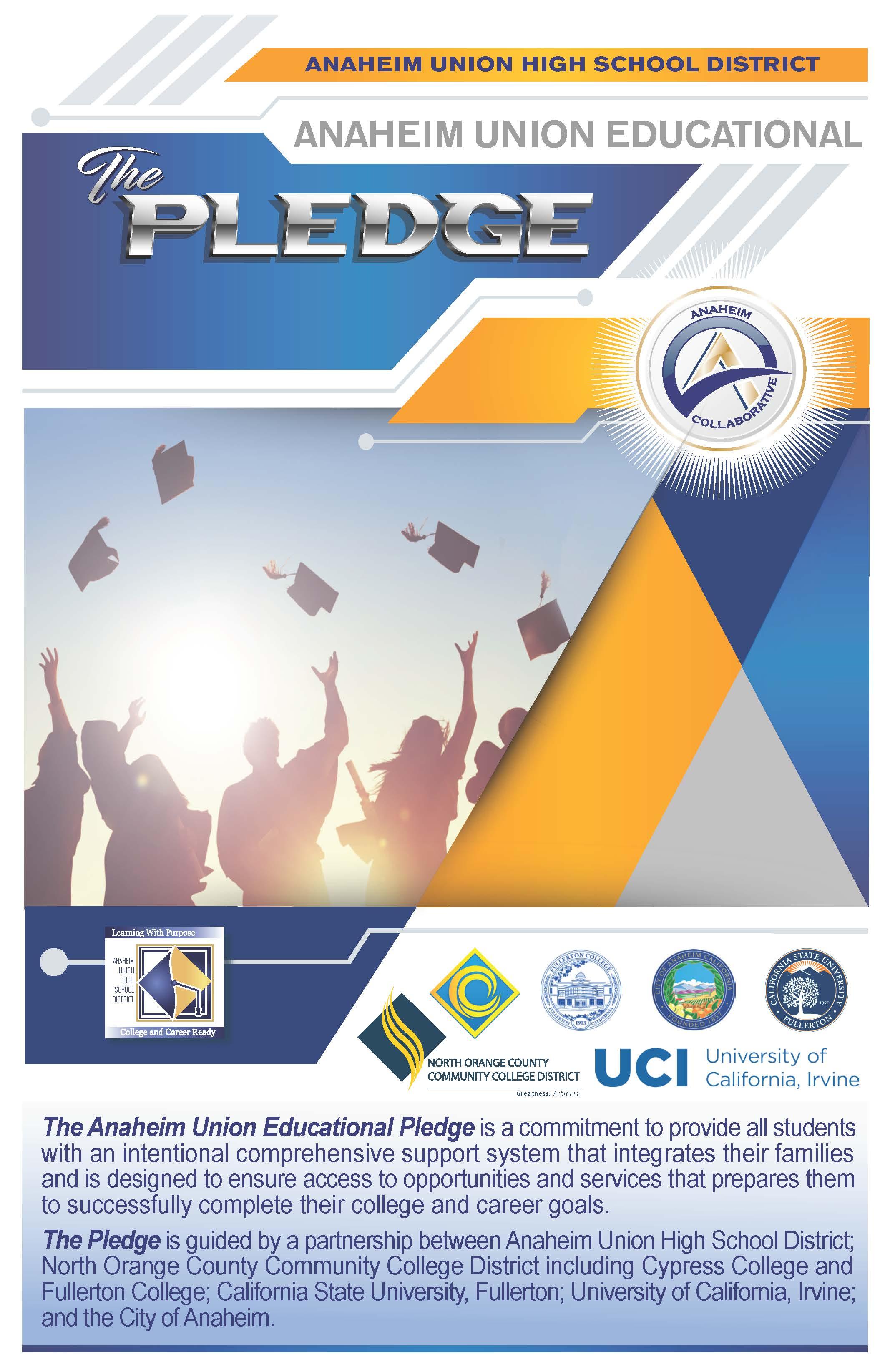 Nocccd Anaheim Campus Map.Nocccd Anaheim Union Educational Pledge Booklet