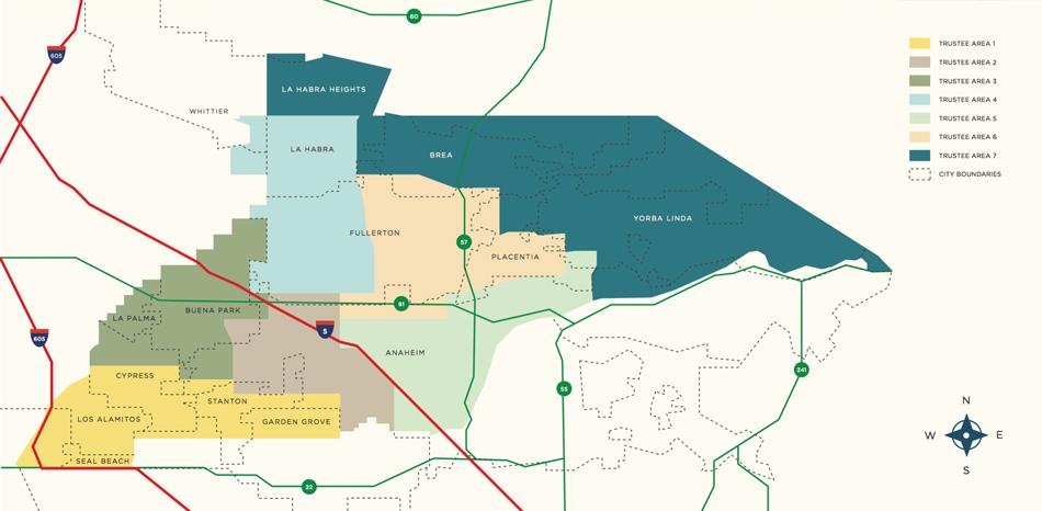 Nocccd Anaheim Campus Map.Nocccd Area Descriptions