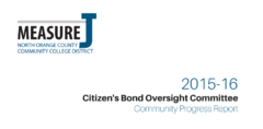 Measure J Community Report Now Online