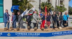 Cypress College Commemorates Breaking Ground on VRC